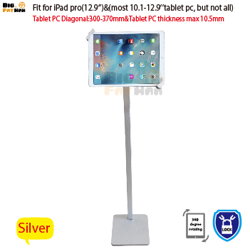 Tablet Stand Kiosk Mount Floor stand for most 10-12.9