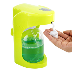 Image 3 - 500 ml Otomatik köpük sabun sabunluğu Için Sıvı Sabun Duvar Monte Dağıtıcı Akıllı Sensör Fotoselli Banyo Mutfak Dağıtıcılar