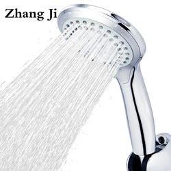 5 режимов ABS пластик Ванная комната душем большая панель круглый Chrome дождь Глава воды заставки классический дизайн G1/2 дождя ZJ039