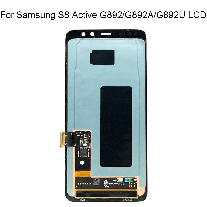 Super Amoled For Samsung Galaxy S8 Active LCD Display Touch Screen Digitizer Assembly For Samsung Galaxy G892 SM-G892A g892U lcd