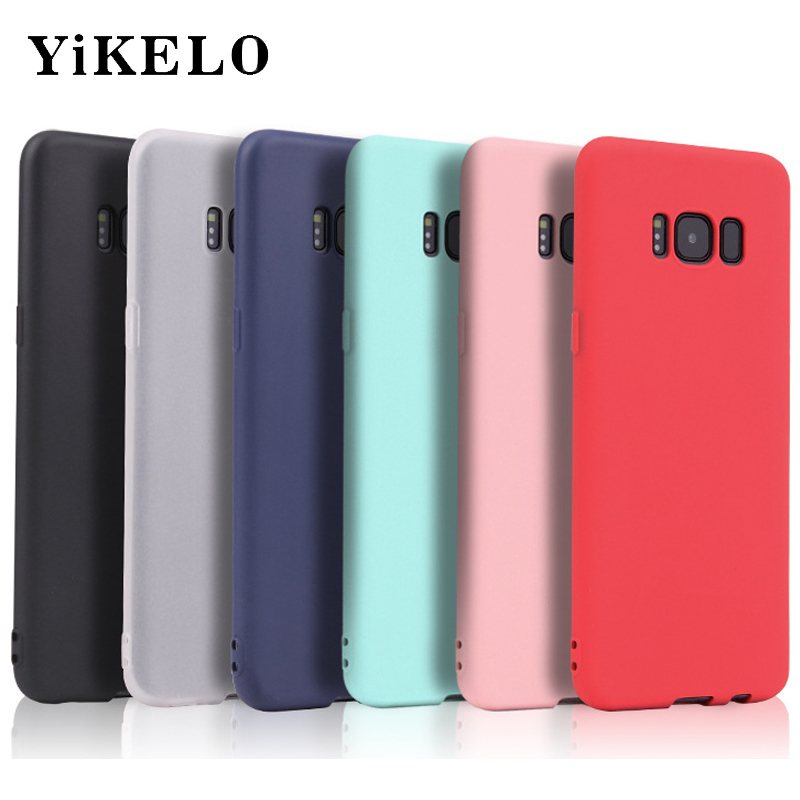 <font><b>Original</b></font> Silicon phone cases für <font><b>Samsung</b></font> Galaxy A3 A5 A7 J1 J3 J5 J7 2016 <font><b>S8</b></font> Plus S6 S7 Rand 2017 Anmerkung3/5 Fall <font><b>Back</b></font> <font><b>Cover</b></font> Coque image