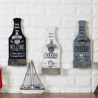 Beer Bottle Opener Wall Decorations Coffee Bar Grill Hot Pot Shop Practical Wall Decoration Pendant