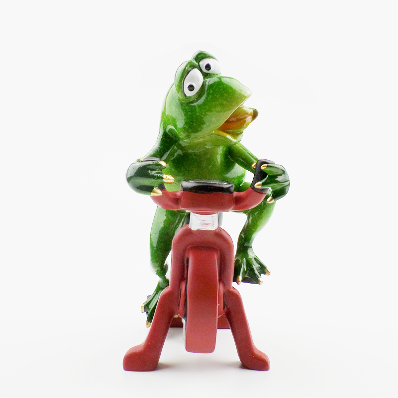 Kawaii Αστεία Frog Ράγα Ειδώλια - Διακόσμηση σπιτιού - Φωτογραφία 5