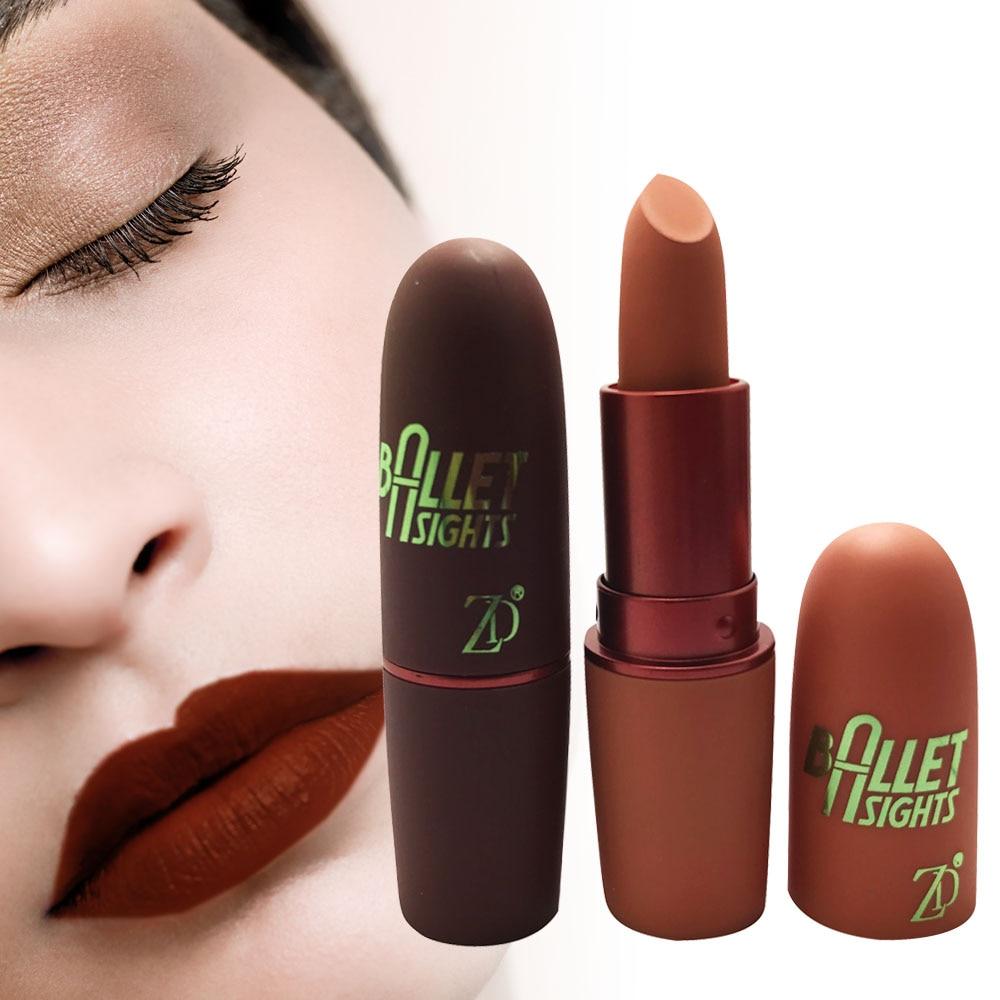 2019 ZD 12Pcs/Set Matte Long Lasting Lipstick Sexy Red