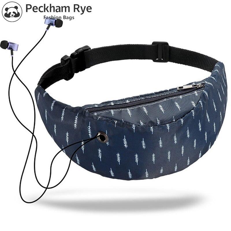 2018 New 3D Colorful Waist Bag Waterproof Chest Bag Travelling Fanny Pack Mobile Phone Waist Pack For Men Designer Belt Bag Men