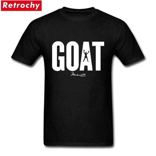 ae5488bbd Muhammed Ali T Shirt Men GOAT Shirts Ali Logo Youth USA Featured Brand  Official Merch Clothing Men's Tshirts Short Sleeve XXXL
