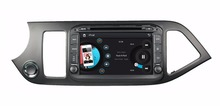 HD 2 din 8″ Car Radio DVD Player for Kia Picanto morning 2014 With GPS Navigation USB Bluetooth IPOD TV SWC AUX IN