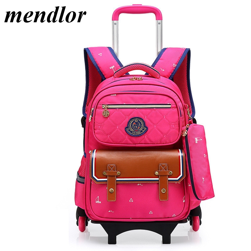 Children School Bags Mochilas Kids Backpacks With 3 Wheels Trolley Luggage For Girls Boys backpack wholesale mochilaChildren School Bags Mochilas Kids Backpacks With 3 Wheels Trolley Luggage For Girls Boys backpack wholesale mochila