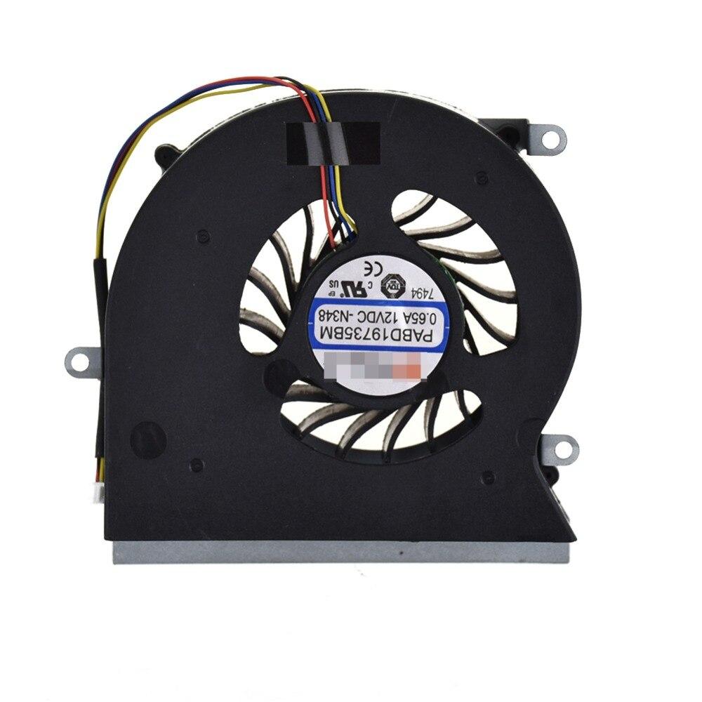 1 pc Nouveau Pour MSI GT62VR ventilateur 6RD 6RE 7RE MS-16L1 16L2 16L3 ventilateur de refroidissement Pour Ordinateur Portable