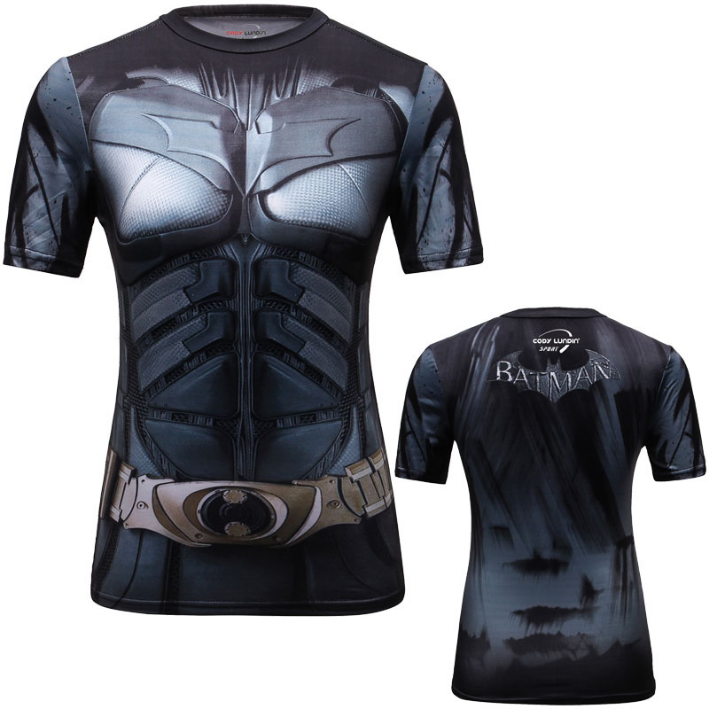 Shirt XL Rooftop Adult Ringer T Sons of Gotham Batman