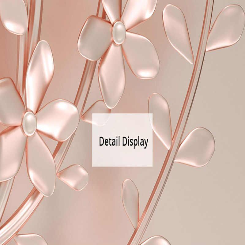 3D خلفيات الحديثة مجردة الفن الإغاثة روز الزهور الصورة ورق حائط جدارية غرفة المعيشة غرفة نوم الأزياء ديكور المنزل طلاء جدران