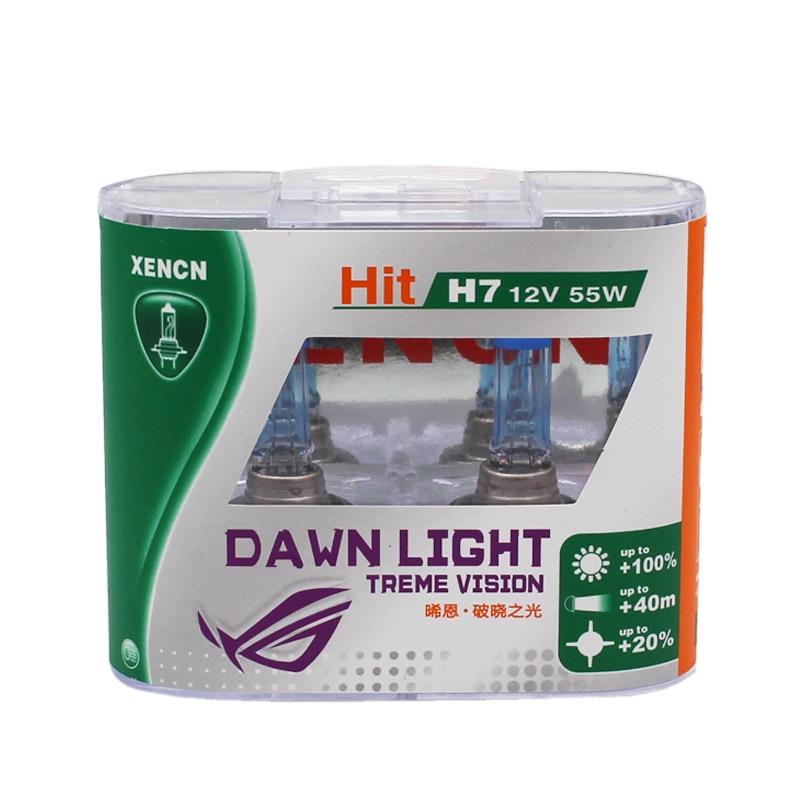 XENCN H7 12 v 55 w 3800 k Super Lumineux Blanc Deuxième Génération Aube Lumière Remplacer Lampe de Mise À Niveau De Voiture Ampoules pour kia BMW AUDI TOYOTA