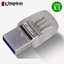 Kingston USB Flash Drive 32GB Pendrive Reminiscence cle USB Three.1Type-C USB Three.zero Memoria Stick micro usb 32gb For Sensible telephones Pen Drive