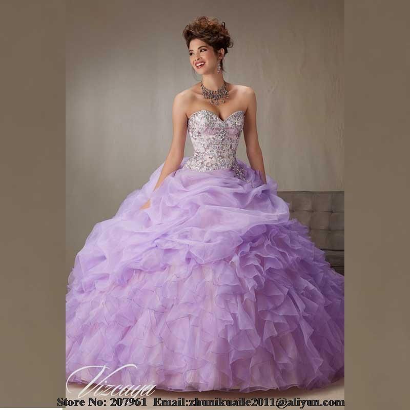 Popular Lavender Quinceanera Dresses-Buy Cheap Lavender ...