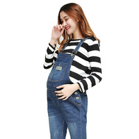 Pregnant women's clothes Pregnant women Jeans bibs Pregnant women's jeans ropa embarazada maternity zwanger pregnancy clothes