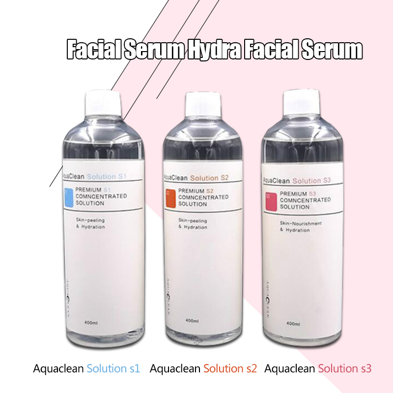 Fast Delivery! ! Aqua Peeling Liquid 4 Bottles Aqua Facial Serum Facial Serum For Neutral Skin Anti-Aging