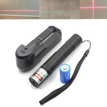 Oxlasers podręczny przenośny 650nm 200mw poziomnica laserowa, czerwony laser moduł krzyż laserowy 520nm 20mw ręczny akumulator zielone lasery