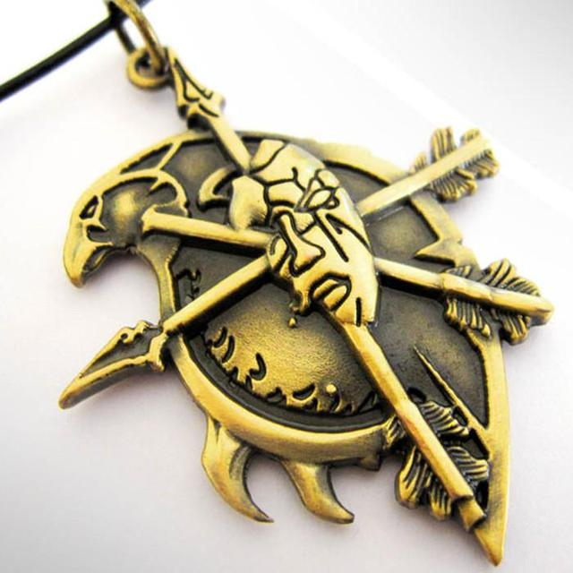 World Of Warcraft Wow Undead Race Symbol Pendant Necklace Mobile