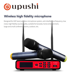 UH-820 U-Segment Dynamic Handheld Wireless Microphone With Great HiFi Sound Quality For Stage Home Karaoke