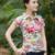 Marca clothing verão 2017 t-shirt das mulheres de impressão floral camisas pólo Slim Fit Feminino Camisetas Casual Tops Tee Plus Size JA2210