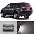 18 led license plate luz para mitsubishi pajero montero esporte, Colt Plus, Grandis 2003-ON