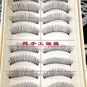 10 Pairs Natural Eyelashes Mak