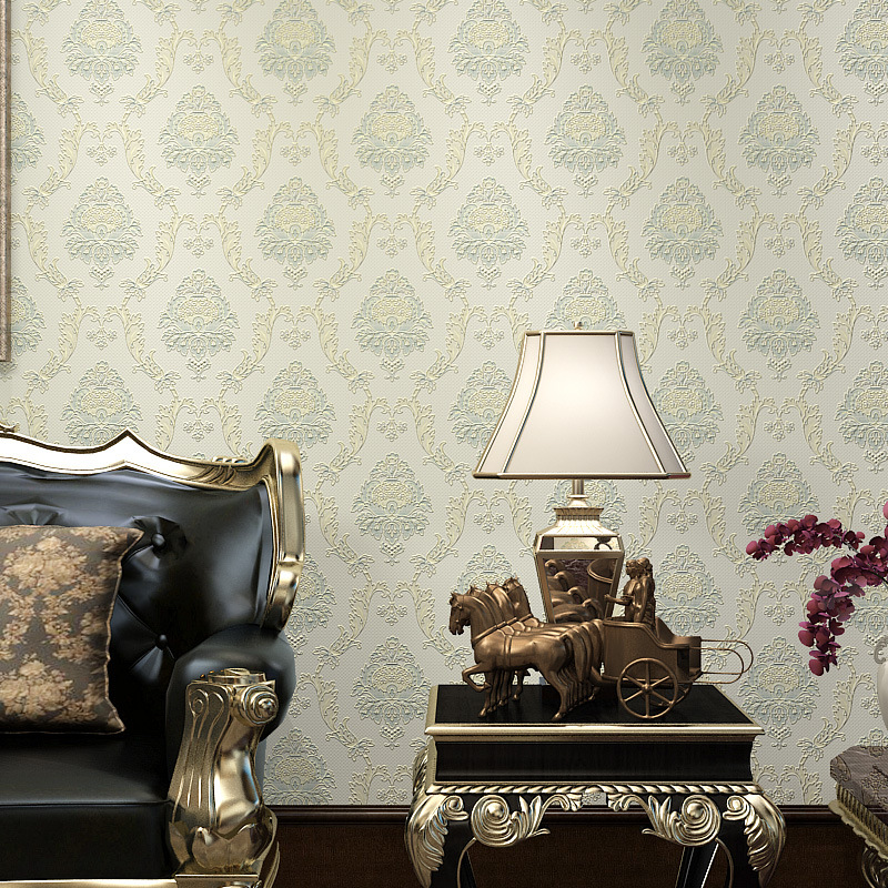 Fashion Wallpaper 3 Deep Embossed Malaysia Bedroom Wallpaper Non