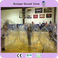 Free Shipping 1.7m TPU Human Inflatable Bumper Ball Bubble Football Soccer Bubble Ball Body Zorb Ball Human Hamster Ball