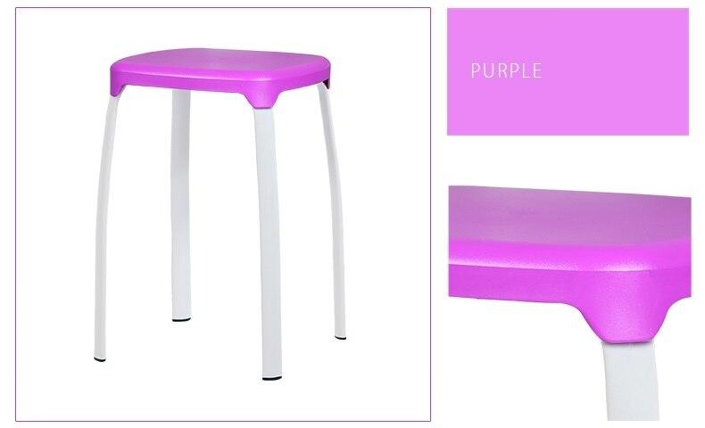 łazienka Stołek Fioletowy Kolor Plastikowe Pp Wc Siedzenia