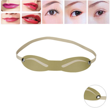 2017 Eyebrow Stencils Microblading Reusable Makeup Brow Tattoo Card Eyebrow Guide Tools Eyebrow Stencils