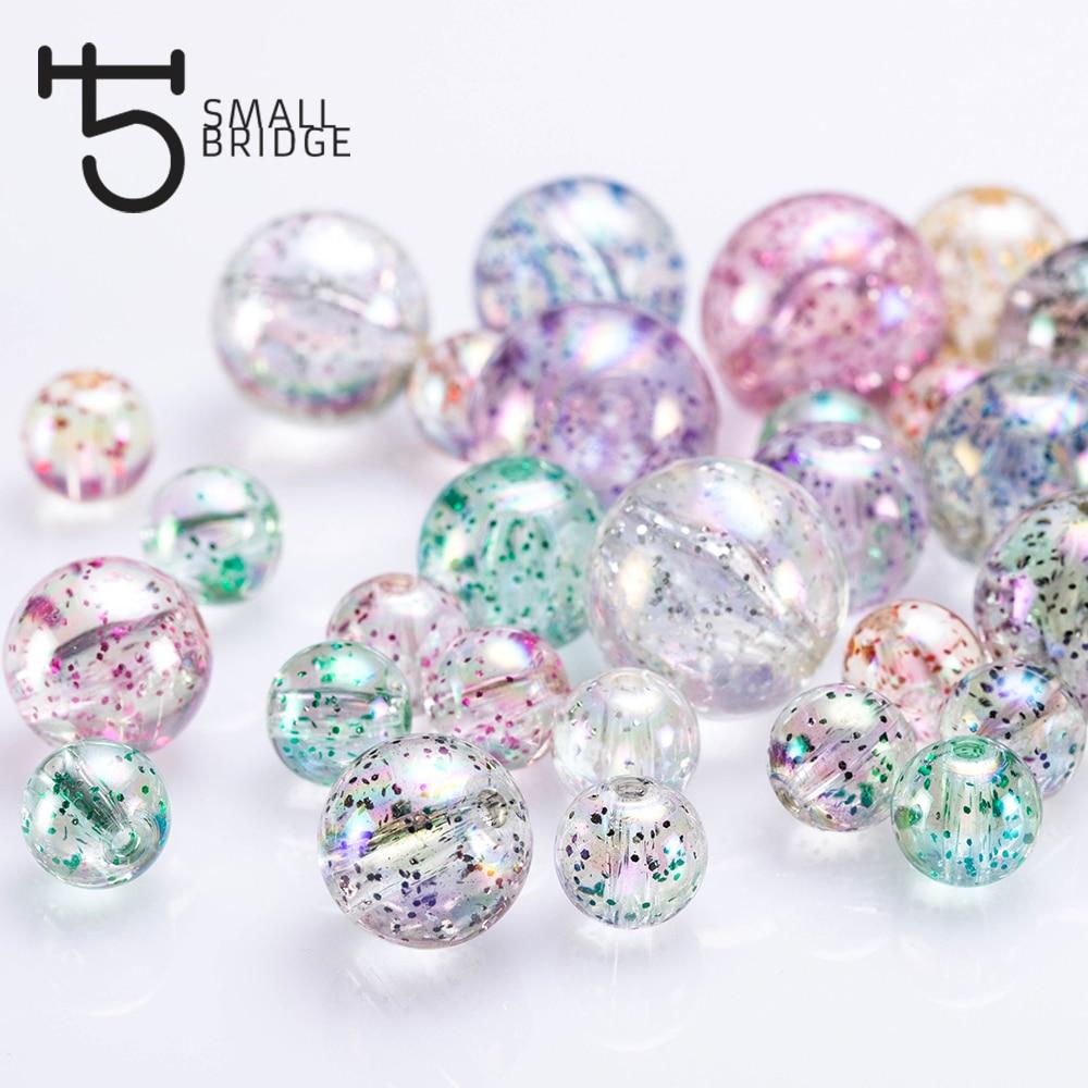 5 Large Acrylic Beads