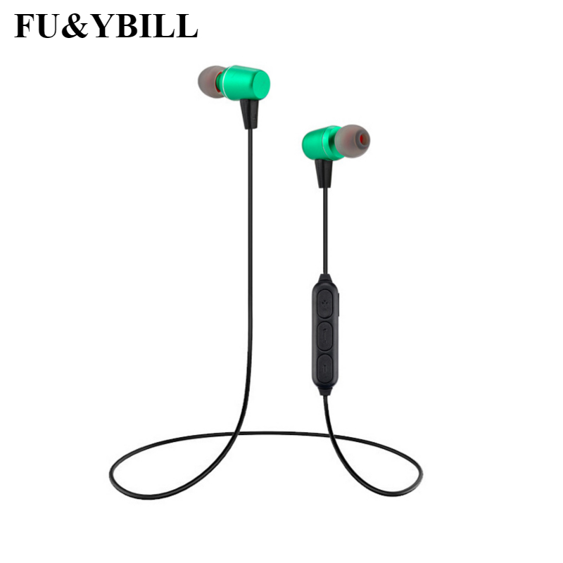 Fu Ybill Sports Wireless Bluetooth Earphones With Mic Running Stereo Universal Headset Best Cordless Earbuds For Iphone Samsung Bluetooth Earphones Headphones Aliexpress