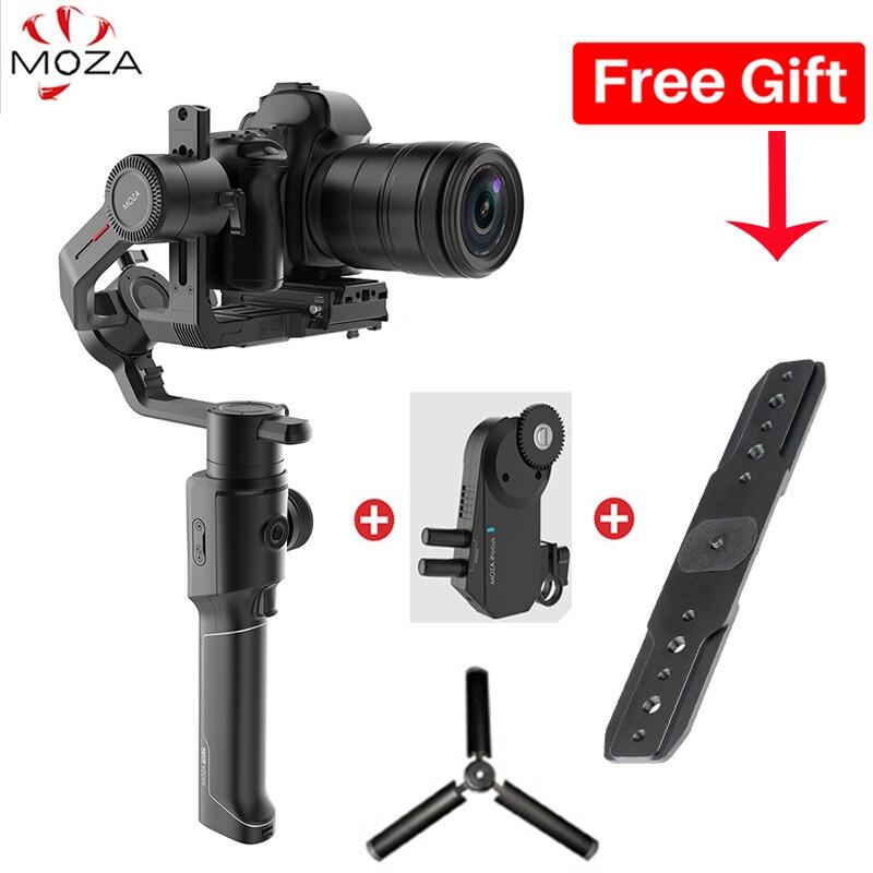 En stock Moza Air 2 Air2 stabilisateur de poche Cardan 4.2 kg Charge Utile pour Canon 5D2 Sony Lumix DSLR appareil photo compact PK DJI Ronin S