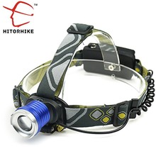 5000Lm CREE XML T6 LED Headlight Headlamp Rechargeable Linternas Head Lamp Light 3mode torch +EU/US  charger for fishing Lights
