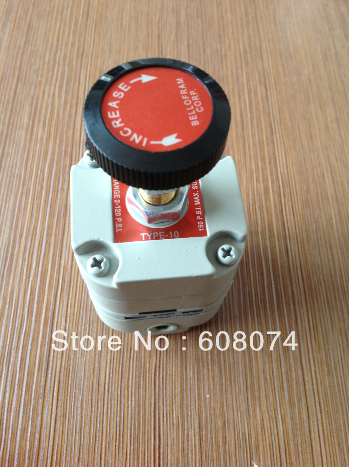 MARSH BELLOFRAM 960-015-000, T-10 TYPE 10 HIGHLY ACCURATE PRESSURE REGULATOR bellofram t77 vacuum regulator 960 500 000 2psi vacuum low pressure valve