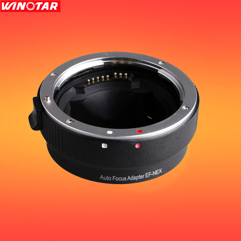 EF-NEX Auto Focus Lens Adapter for Canon EOS EF EF-S Lens to Sony E NEX Full Frame A7 A7II A7R A7SII A6000 NEX-7/6/5