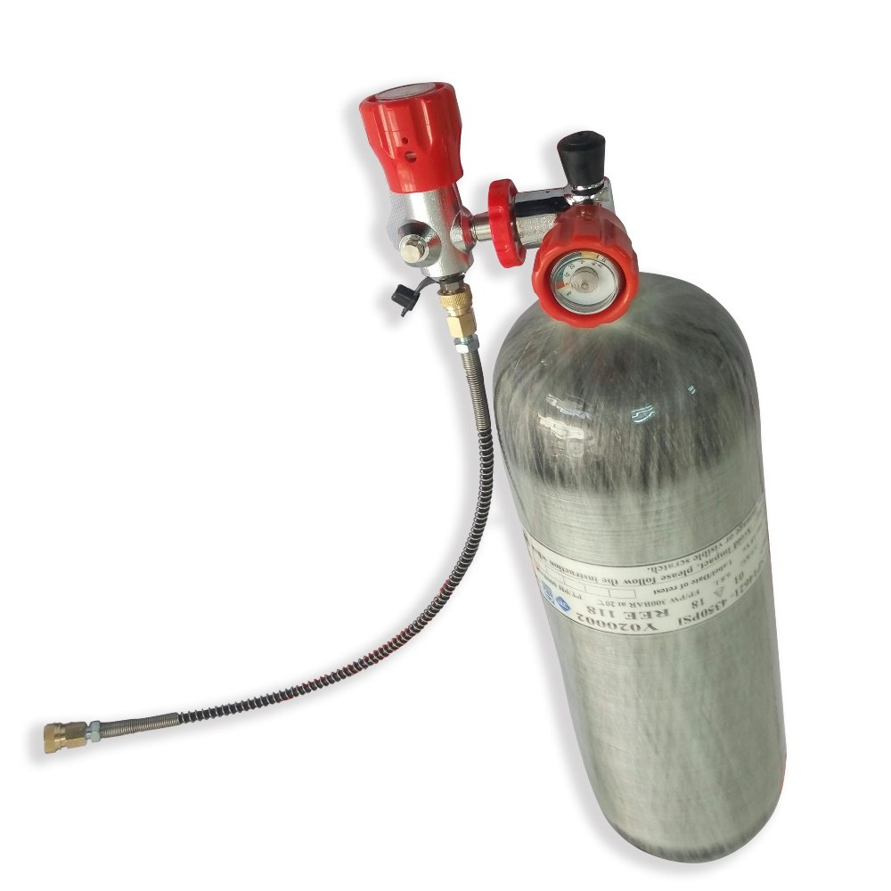 AC290111 Condor Pcp Compressed Air Bottle 4500Psi 300 Bar 9L DOT  For High Pressure Cylinder Scuba Diving Tank Acecare 2019