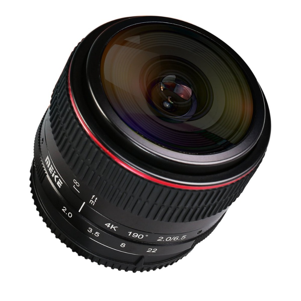MEKE 6.5mm Ultra Wide f/2.0 circular Fisheye Lens for Fujifilm Mirrorless Camera