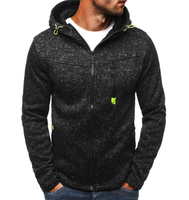 2018 Brand Hoodie Zipper Cardigan Hoodies Men Fashion Tracksuit Male Sweatshirt Hoody Mens Purpose Tour XXL