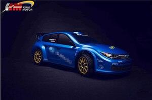 Image 5 - KM 1/7 RC Subaru Biểu Tình WRC Điều Khiển Từ Xa Mô Phỏng Cuộc Biểu Tình Xe Hai Bộ Lốp Xe 20Kg Kim Loại Svrvo Lâu Đài 120A esc 1515 Động Cơ MT 305