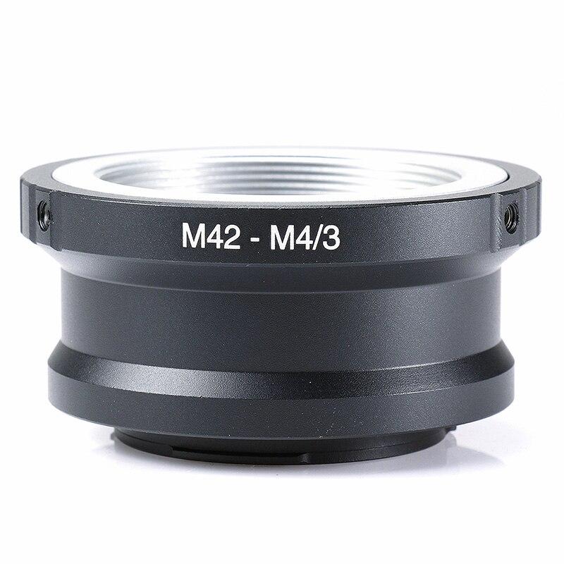 Lentille adaptateur de montage Pour M42 Lens pour Micro 4/3 M43 GX1 GF5 EP3 EPL5 OMD EM1 M42-M43 pour Panasonic G1 G3 GH1 GF1 GF3 E-P1 E-PL3