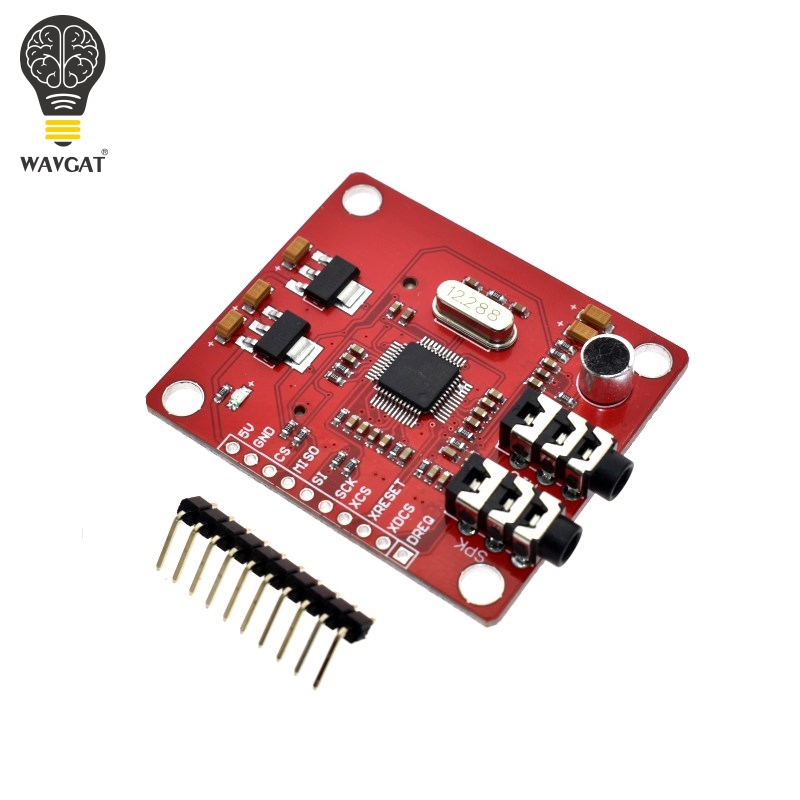 Image 3 - WAVGAT VS1053 VS1053B MP3 Module For Arduino UNO Breakout Board With SD Card Slot Ogg Real time Recording For Arduino UNO-in Integrated Circuits from Electronic Components & Supplies