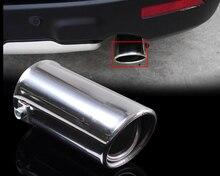 Dwcx выхлопная труба выхлопной трубы сзади глушитель Конец отделка для Alfa Romeo daewoo Fiat Audi A1 A2 BMW 1 & 5 серии Ford Fiesta