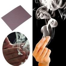 Fotoğraf efektleri aksesuarları, mistik parmak duman Prop, hile parmak erkek duman fantezi Magician Trick aksesuarları