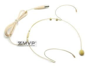 Image 3 - 3 sztuk zestaw słuchawkowy Headworn profesjonalny mikrofon pojemnościowy Mini 3pin XLR TA3F wtyczka Mic Mike dla Shure bezprzewodowy nadajnik Bodypack
