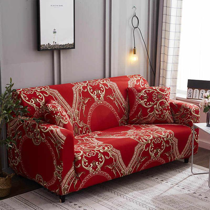دنة غطاء أريكة تمتد غطاء أريكة الاقسام طقم أريكة غطاء أريكة s لغرفة المعيشة housse canape الغلاف 1/2/3/ 4 مقاعد