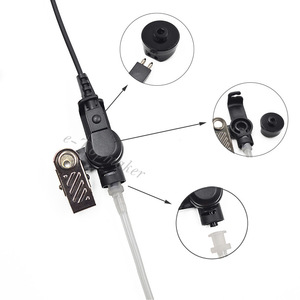 Image 3 - XQF 3ปตท.สายเฝ้าระวังเครื่องเสียงหลอดหูฟังชุดหูฟังไมโครโฟนสำหรับMotorolaวิทยุDP4400 DP4401 DP4800 DP4801เครื่องส่งรับวิทยุ