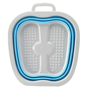 HOT Footbath ถังถังพับคอนเทนเนอร์เท้าอ่างสปาพับได้นวดอ่างล้างหน้าแบบพกพาอ่างล้างหน้า Health Care Bath