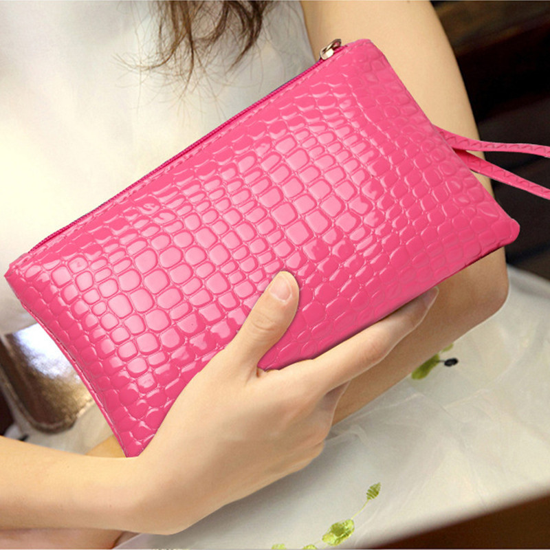 Ladies handbag fashion crocodile pattern Korean version of the purse women bag ladies handbag fashion crocodile pattern korean version of the purse new women fashion bag