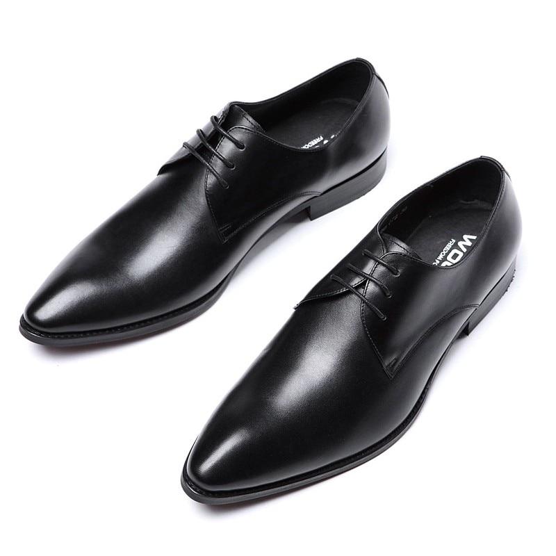 a0059 Js Moda 1 Venda Vestido 2 Quente Couro Toe Trabalho Lace Homens De Up Casamento Escritório Apontou Genuíno Handmade Sapatos Dos Novos Oxfords qwHnxF4gRw